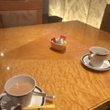 相談の前には紅茶とちょっとしたお菓子