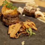 山吹コースの肉料理