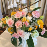 お花がすごい豪華でした!!