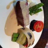牛ヒレ肉のステーキです。