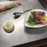 試食は冷製中心に構成されていました。