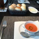 前菜後のスープ
