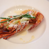 魚料理・オマール海老のフリカッセ