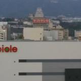 チャペルから見える姫路城です。