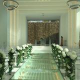 式場はめっちゃ綺麗です。