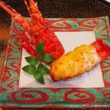 祝宴らしい海老料理。