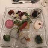 前菜は色々なお野菜が食べれました。