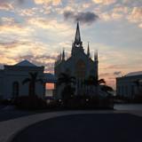 海辺の素敵な教会です。