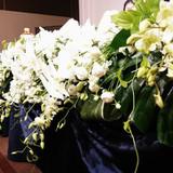 会場のお花も豪華でした!