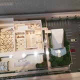 敷地内の模型