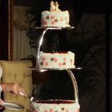 こだわりの3段ケーキ