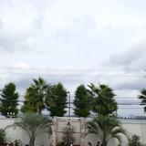 琵琶湖をバックにウェディングベル