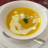 かぼちゃのスープ。