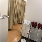 女性用の更衣室です。