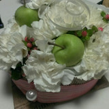 帰り際にテーブルのお花をいただきました。