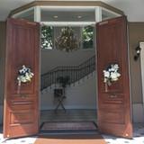 ビバリーヒルズ邸の入り口