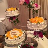 ケーキも飾り付けも素敵でした!