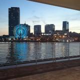 オリエンタルホテルから見える神戸の景色