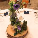 ゲスト宅の装飾花