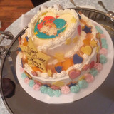キキララのウエディングケーキ