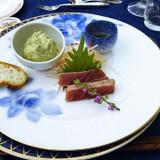 前菜1*鮪タルタルと炙り鮪