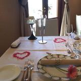 テーブルを可愛くしてくれました!