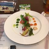 前菜のお野菜がとてもおいしかったです。