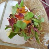 前菜 オマール海老が美味でした。