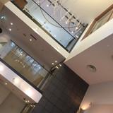 2階に挙式会場、3階が新郎新婦の控え室