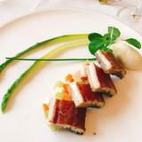 鰻の赤ワインマリネ