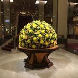 メインロビーの装花
