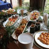 披露宴前の軽食