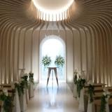 お洒落なデザインの教会