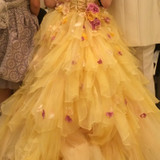カラードレスとても可愛かったです。