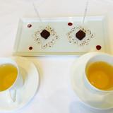 紅茶と生チョコ。