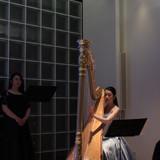 めずらしいハープ演奏!