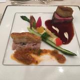 オークラのお肉とお魚です