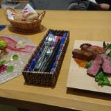 前菜とメイン料理
