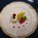デザート。フルーツが美味しかったです。