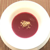 季節の素材をつかったスープ