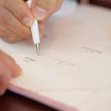 証明書へのサイン