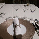 試食の際のテーブルコーディネートです