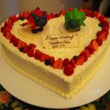 ケーキの上に…!本当に感謝です!