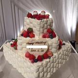 予想以上に素敵なケーキでした♪