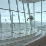 海と江ノ島を望むチャペル