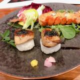 フォアグラのお寿司?最高です。