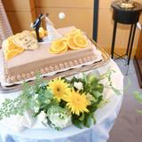 ウェディングケーキはオーダーしました。