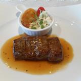 メインのお肉料理。とてもソフトでした。