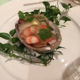 前菜の海鮮サラダ!