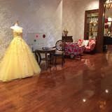 ドレスの展示もあってよかった。